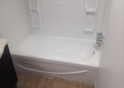 Émaillage de bain et mur  après Shawinigan | Émaillage Bo-Bain Victoriaville